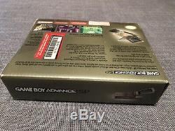 Nintendo Game Boy Advance SP Super Mario Bros 3 Toys R Us Gold System SEALED