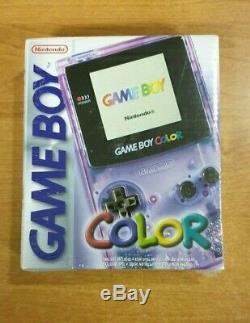Nintendo Game Boy Color PURPLE MINT, RETAIL SEALED