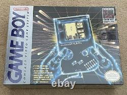 Nintendo Game Boy DMG-01 New Factory Sealed Gray Console Tetris Game Boy 1989
