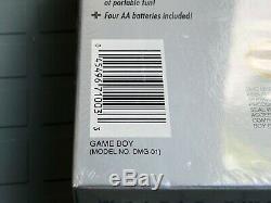 Nintendo Game Boy Gray Handheld System FACTORY SEALED, NEW