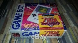 Nintendo Game Boy Launch Edition Gray Handheld System Zelda Links New Sealed