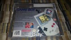 Nintendo Game Boy Launch Edition Gray System DMG-01 withTetris New Sealed VGA 80+
