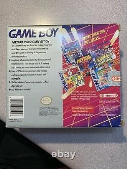 Nintendo Game Boy Original Gray Handheld System DMG-01 Factory Sealed Unopened