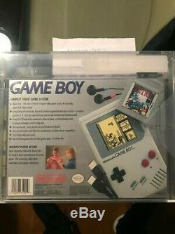 Nintendo Game Boy US Launch Edition Gray DMG-01 withTetris New Sealed VGA 85