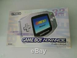 Nintendo Gameboy Advance SILVER Console Japan Sealed Unopened GBA RARE Variant