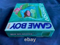 Nintendo Gameboy Advance SP Venusaur Pokemon Center US Brand New Sealed