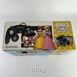 Nintendo Gamecube NEW SEALED Bundle System Mario Party 7 Bonus Set Unopened VGA