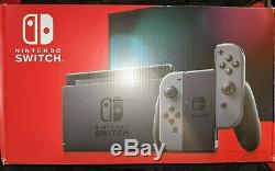 Nintendo Switch 32GB Console System with Grey/Gray Joy-Con BRAND NEW SEALED