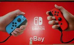Nintendo Switch 32GB Console System with Neon Blue & Red Joy-Con BRAND NEW SEALED