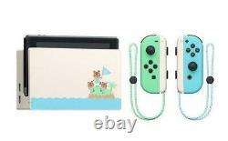 Nintendo Switch Animal Crossing Console Bundle New Sealed