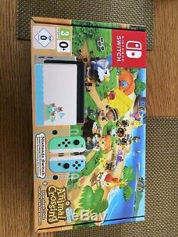 Nintendo Switch Animal Crossing New Horizons Edition Sealed Quick Delivery