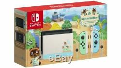 Nintendo Switch Animal Crossing Special Edition Sealed In Box