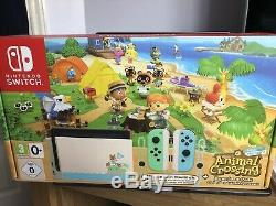 Nintendo Switch Console Animal Crossing Edition Brand New And Sealed