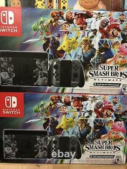 Nintendo Switch Console Super Smash Bros Ultimate Edition brand new sealed