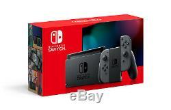 Nintendo Switch Gray Joy-Con Console BRAND NEW & FACTORY SEALED