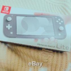 Nintendo Switch Lite (Grey, 2019) Brand New Factory Sealed