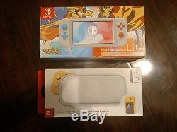 Nintendo Switch Lite Pokemon Zacian Zamazenta Edition Rare OOP NEW SEALED + CASE