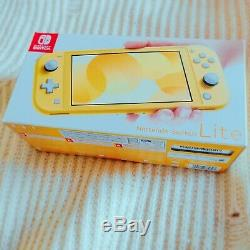Nintendo Switch Lite (Yellow, 2019) Brand New Factory Sealed