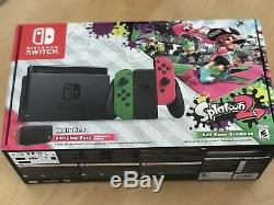 Nintendo Switch Splatoon 2 Limited Edition Bundle Rare Factory Sealed