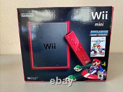 Nintendo Wii Mini System Console NEW Sealed in Box Never Opened