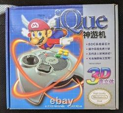 Nintendo iQue Player official N64 console 2003, Factory Sealed Rare