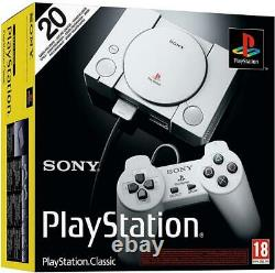 OFFICIAL Sony PlayStation PS Classic Console Free 20 Games, NEW SEALED