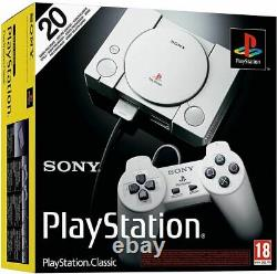 OFFICIAL Sony PlayStation PS Classic Console Free 20 Games, NEW SEALED STOCK
