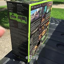 ORIGINAL Xbox Halo Special Edition GREEN CONSOLE collector's set SEALED NEW