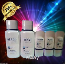 Obagi Fx Nu Derm Steps 1-5 System Kit Normal To Oily Sealed