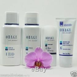 Obagi Fx Nu Derm Steps 1-5 System Kit Normal To Oily Sealed -05