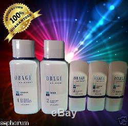 Obagi Nuderm Fx System Kit Steps1- 5 Normal To Oilyexp 1/19 Sealed