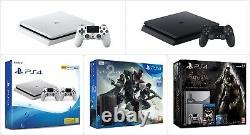 Official Sony Playstation Ps4 Slim Console 500gb / 1tb New & Sealed
