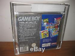 Original Black Nintendo Game Boy VGA 85+ Brand New PAL-UK Gameboy Sealed Snes