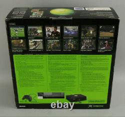 Original Microsoft Xbox Console System Brand New Sealed withJSRF & GT OOP Ex Rare