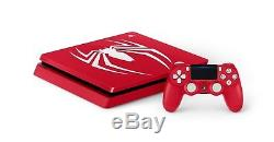 PS4 Slim 1TB Spider Man Limited Edition with Game Bundle UK SEALED IN STOCK