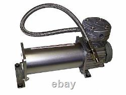 Pewter 400 Air Compressor For Air Bag Suspension System 165 On 200 Off & Relay