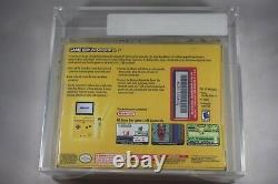 Pikachu Pokemon Nintendo Game Boy Advance SP VGA 90+ NEW in Box Sealed