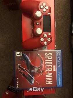 PlayStation 4 PS4 Pro 1TB Marvel's Spider-Man Limited Edition Sealed Brand New
