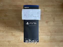 PlayStation 5 PS5 Digital Console BRAND NEW + SEALED READY TO POST
