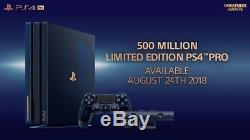 Playstation 4 Pro 500 Million Limited Edition 2TB NEW&SEALED
