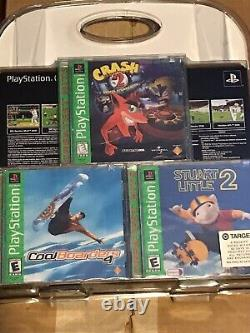 Playstation One Ps1 PS One Sealed Console & 3 Games Crash Bandicoot 2