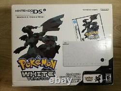 Pokemon White Nintendo DSi Bundle Factory Sealed Console Limited Edition White