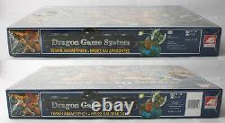 Rare Vintage Dark World Dragon Game System Board Game Greek Edition New Sealed