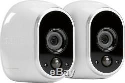 SEALED Arlo Indoor/Outdoor Wireless HD Security System with 2 Cameras VMS3230