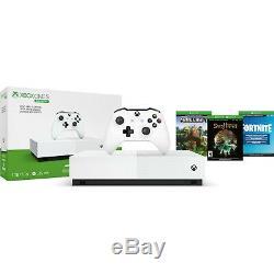 SEALED Microsoft Xbox One S 1TB All-Digital Edition Console Bundle NJP-00050