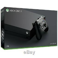 SEALED Microsoft Xbox One X 1TB Black Console CYV-00001