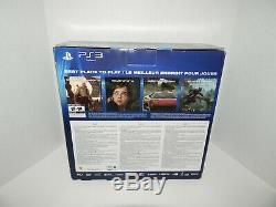 SEALED Sony Playstation 3 Super Slim 250gb Console Azurite Blue PS3 System