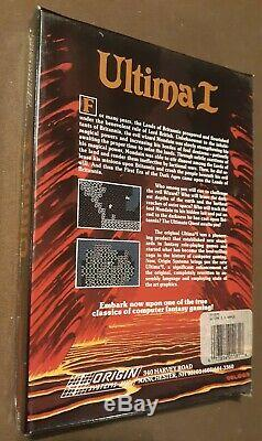 SEALED Ultima I by Lord British Origin Systems coins, maps Apple II+, IIe, IIc, IIgs
