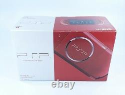 SONY PSP Playstation Portable Radiant Red PSP-3006RR Brand New Sealed