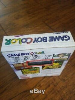 Sealed New Nintendo Game Boy Color Atomic Purple